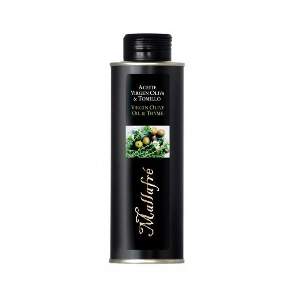 Aceite virgen de oliva y Tomillo - Lata 250 ml