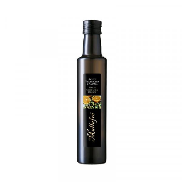 Aceite virgen de oliva y Naranja - Botella vidrio 250 ml