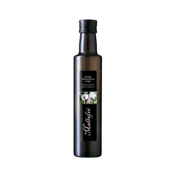 Aceite virgen de oliva y Ajo - Botella vidrio 250 ml