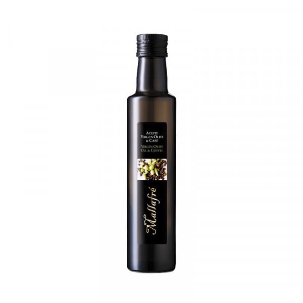 Aceite virgen de oliva y Café - Botella vidrio 250 ml