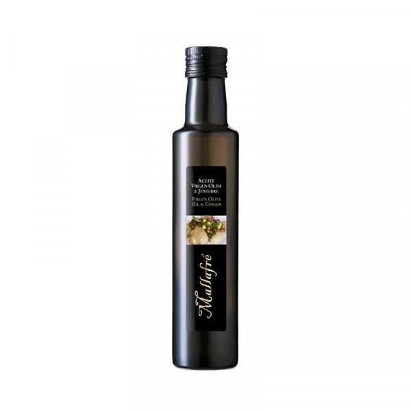 Oli d'Oliva Verge i Gingebre - Ampolla vidre de 250 ml