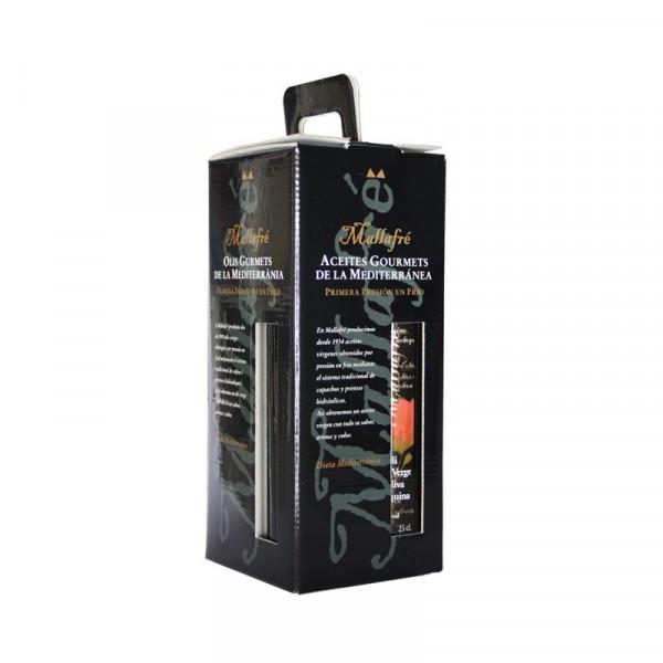 Aceite virgen de oliva aromatizado -  Lote de 4 Botellas de vidrio de 250 ml