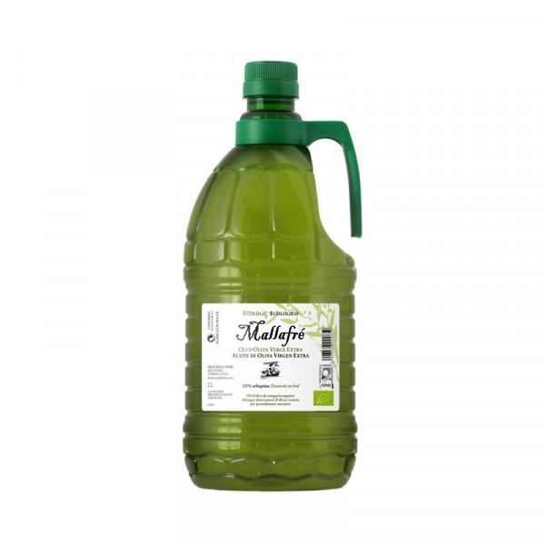 Aceite virgen de oliva ecológico-  Garrafa de plástico de 2L