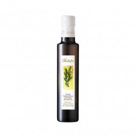 Oli d'Oliva Verge extra aromatitzat ecològic Romaní- Ampolla de vidre de 250ml
