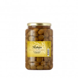 1 kg Plastic Container - Split Olives