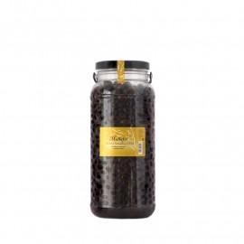 Olives negres a l'oli - Envàs de vidre 3 kg