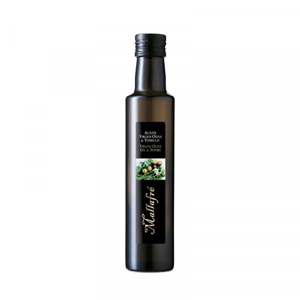 Aceite virgen de oliva y Romero - Botella vidrio 250 ml