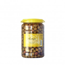 Aceitunas arbequinas - Bote de plàstico de 1 kg