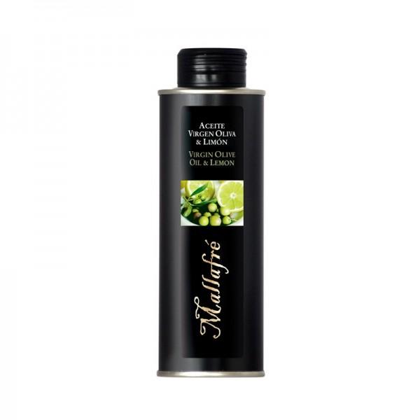 Oli d'Oliva Verge i Llimona - Ampolla vidre de 250 ml