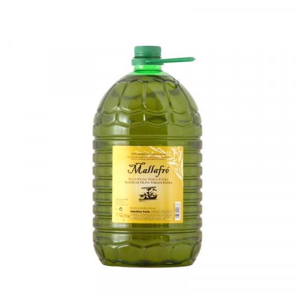 Aceite extra virgen de oliva - Garrafa plástico 5L