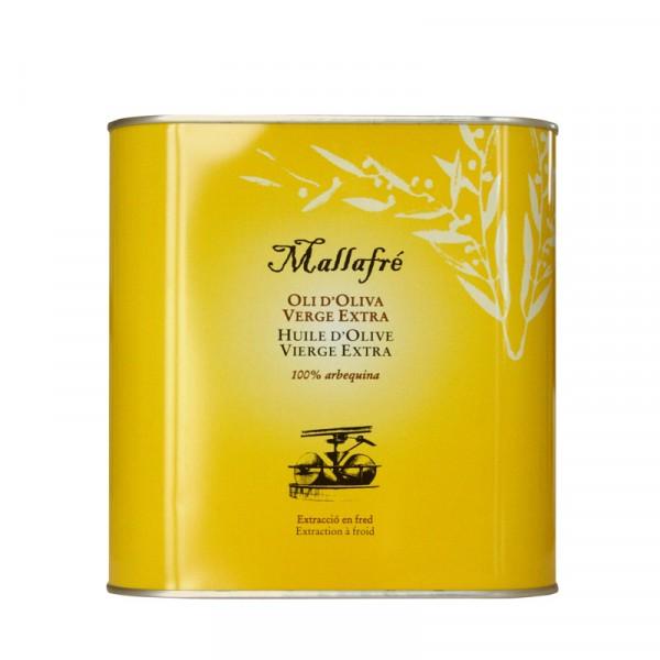 Aceite extra virgen de oliva - Lata de 2,5 L