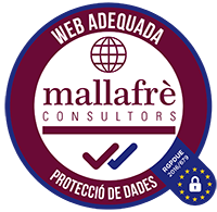Web adequada Protecció de Dades